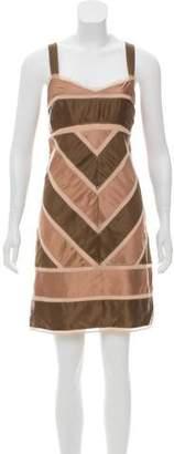 BCBGMAXAZRIA Silk Mini Dress