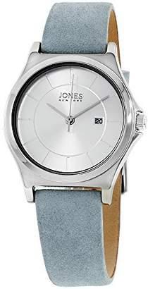 Jones New York Women's 33mm Leather Band Steel Case Quartz Watch 11683S528-004