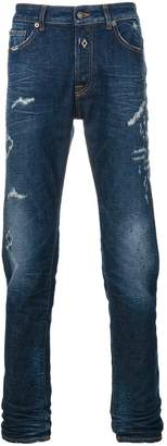 Marcelo Burlon County of Milan stonewashed jeans