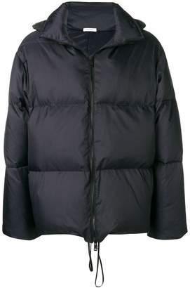 Jil Sander hooded padded short coat