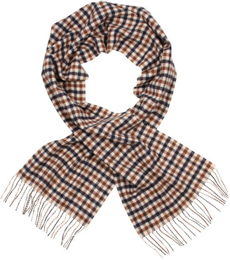Club Check Lambswool Scarf AFLG16-WAIEC