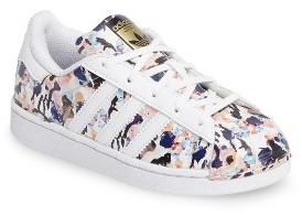 Girl's Adidas Graphic Superstar Sneaker $74.95 thestylecure.com