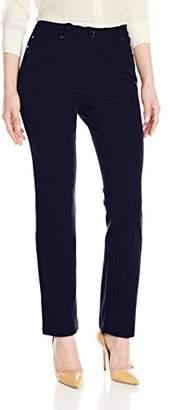 Rafaella Women's Petite Five-Pocket Slim-Leg Pant