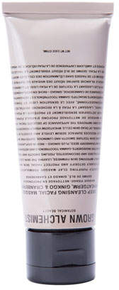 Gingko International Grown Alchemist Deep Cleansing Masque - Wheatgerm, & Cranberry, 2.5 oz./ 75 mL