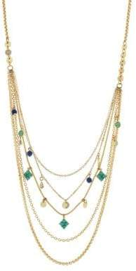 Jessica Simpson Crystal Layer Necklace