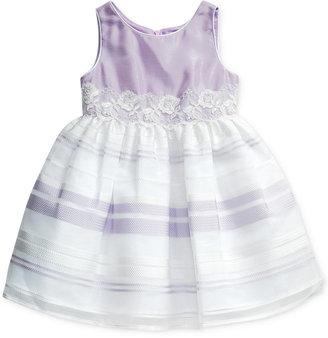 Sweet Heart Rose Organza Illusion Dress, Little Girls (2-6X) $74 thestylecure.com
