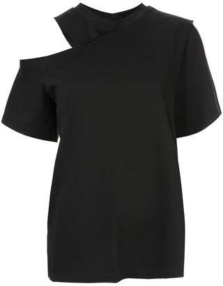 GOEN.J cold shoulder T-shirt