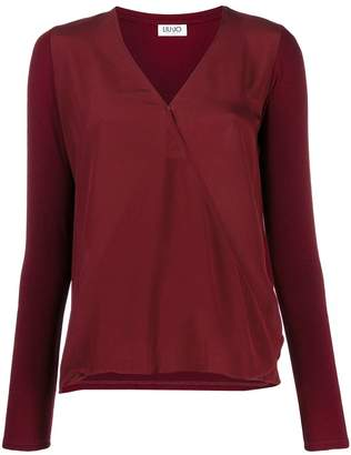 Liu Jo relaxed-fit V-neck blouse