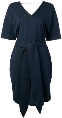 Brunello Cucinelli short-sleeve shift dress