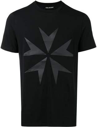 Neil Barrett military star print T-shirt