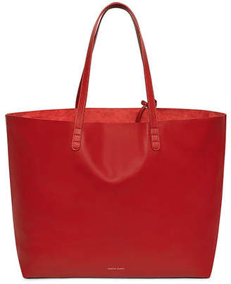 Mansur Gavriel Oversized Lamb Leather Tote Bag