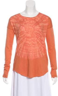 Raquel Allegra Printed Long Sleeve Top