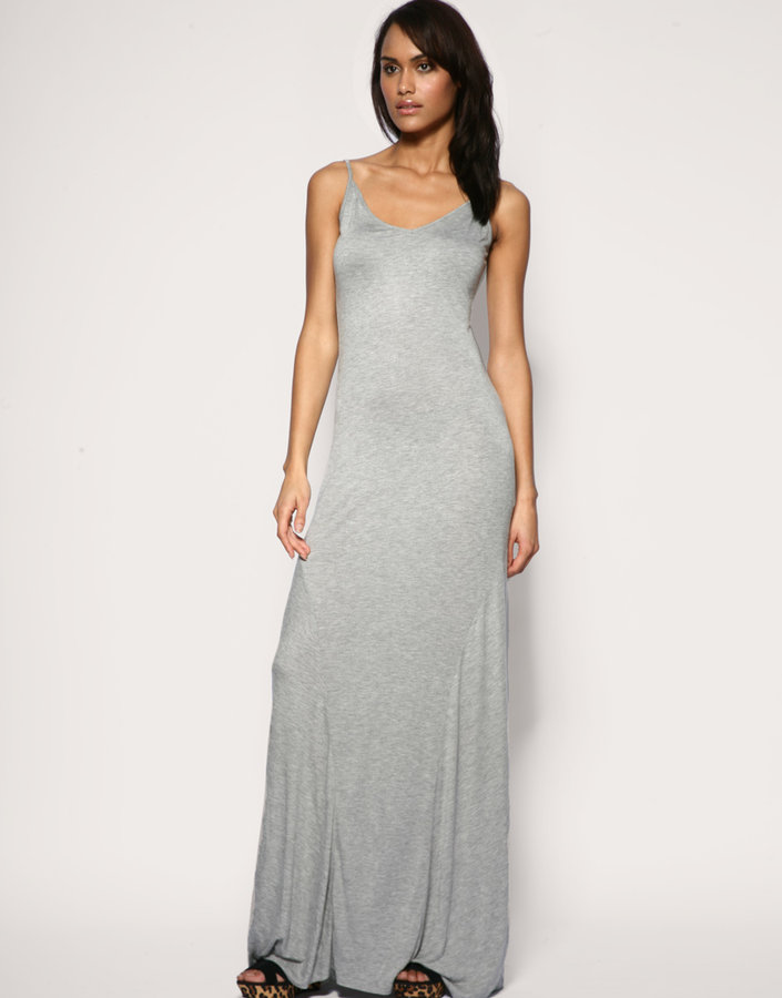 ASOS Seamed Panelled Strappy Maxi