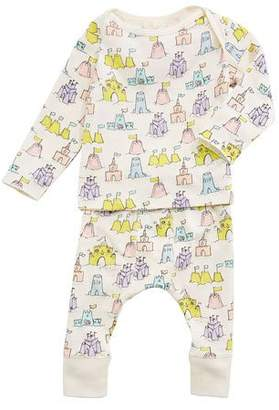 Stella McCartney Buster + Macy Sandcastle Tee & Matching Leggings, Size 3-18 Months