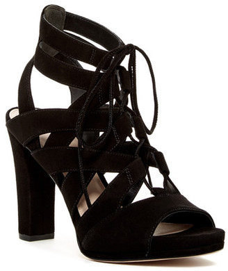 Via Spiga Collette Caged Platform Sandal $225 thestylecure.com