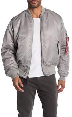Alpha Industries Mock Neck Bomber Jacket