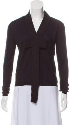 Marni Cashmere Knit Cardigan Black Cashmere Knit Cardigan