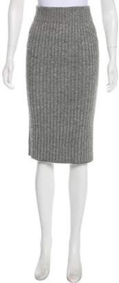 Eleven Paris Six Baby Alpaca Knit Skirt
