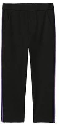 MANGO Side striped trousers