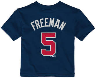 Majestic Babies' Freddie Freeman Atlanta Braves Player T-Shirt