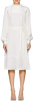 Co Women's Crepe Belted Midi-Dress