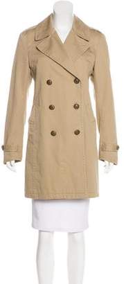Rag & Bone Notch-Lapel Knee-Length Coat