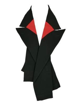 Comme des Garcons Vintage Black Wool Scarves