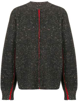 Oamc contrasting panels sweater
