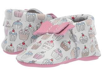 Freshly Picked Soft Sole Bow Moccasins - Candy Shop (Infant/Toddler)