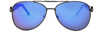 Zoo York Mens Full Frame Aviator Sunglasses