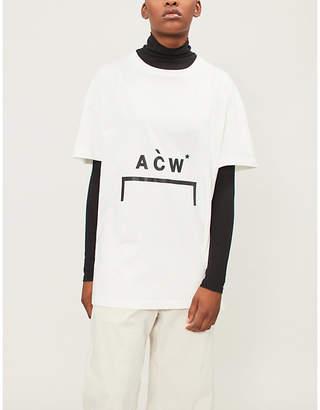 A-Cold-Wall* Logo-print cotton-jersey T-shirt