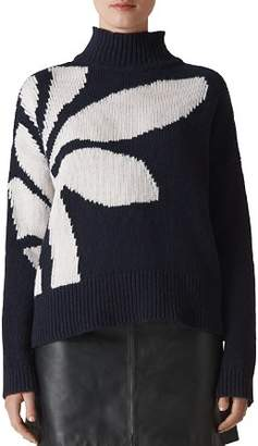 Whistles Intarsia Knit Sweater