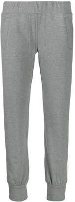 Norma Kamali side-stripe track trousers