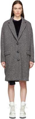 Etoile Isabel Marant Grey Gimi Coat