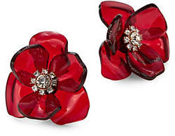 Kate Spade Flower Crystal Stud Earrings