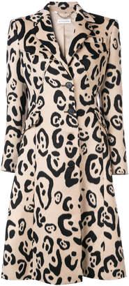 Altuzarra leopard print coat