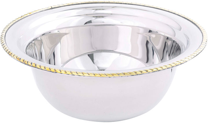 Asstd National Brand Old Dutch International 3-qt. Stainless Steel Round Food Dish