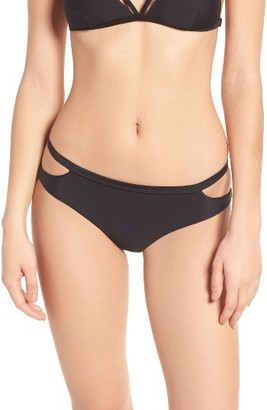 Women's Rvca Strappy Bikini Bottoms $36 thestylecure.com