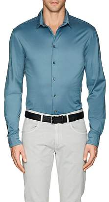 Giorgio Armani Men's Cotton Jersey Shirt