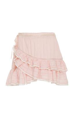 LoveShackFancy Ophelia Mini Ruffle Skirt