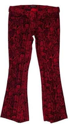 Balmain Low-Rise Cropped Jeans
