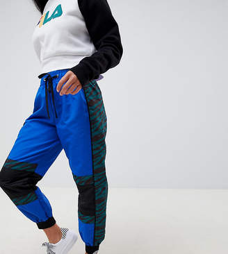Asos DESIGN Petite joggers in mixed print