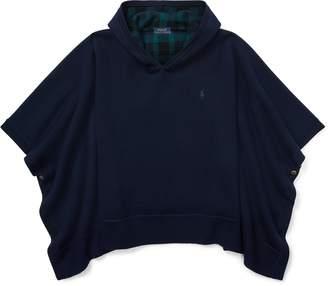 Ralph Lauren Reversible Poncho Sweater