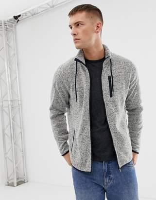 Jack and Jones Core Fleece Sweat Jacket