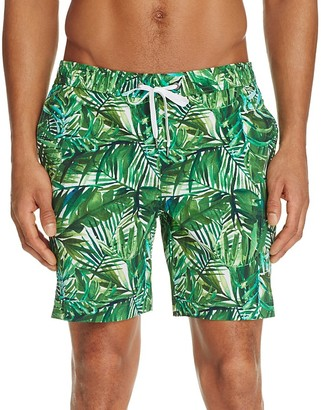 Onia Charles Palm Leaf Print Swim Trunks - 100% Exclusive $145 thestylecure.com