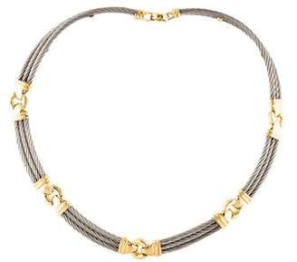 Charriol Two-Tone Cable Collar Necklace