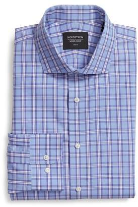Nordstrom Trim Fit Plaid Dress Shirt