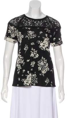 RED Valentino Wool Patterned Top