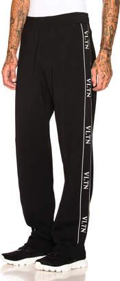 Valentino VLTN Track Pants in Black | FWRD
