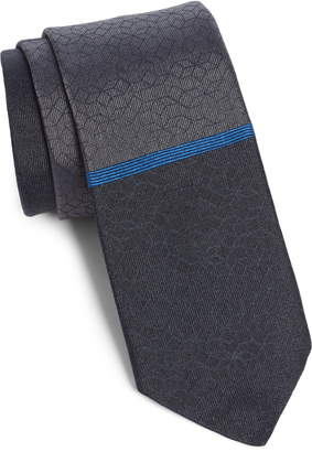 title of work Stripe Silk Tie